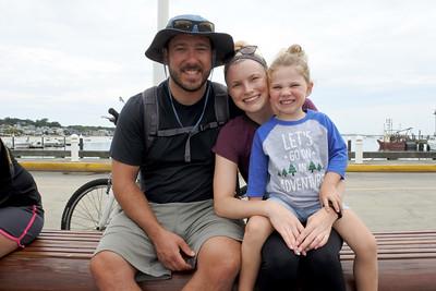 TJ, Cailtlin and Laine