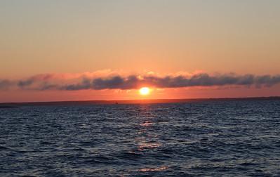 Sunrise on the Fishing Boat