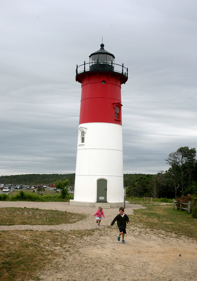 Eamon and Laine at Nauset Light