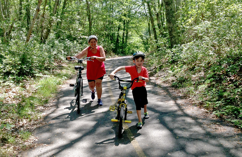 Denyse and Eamon On The Trails