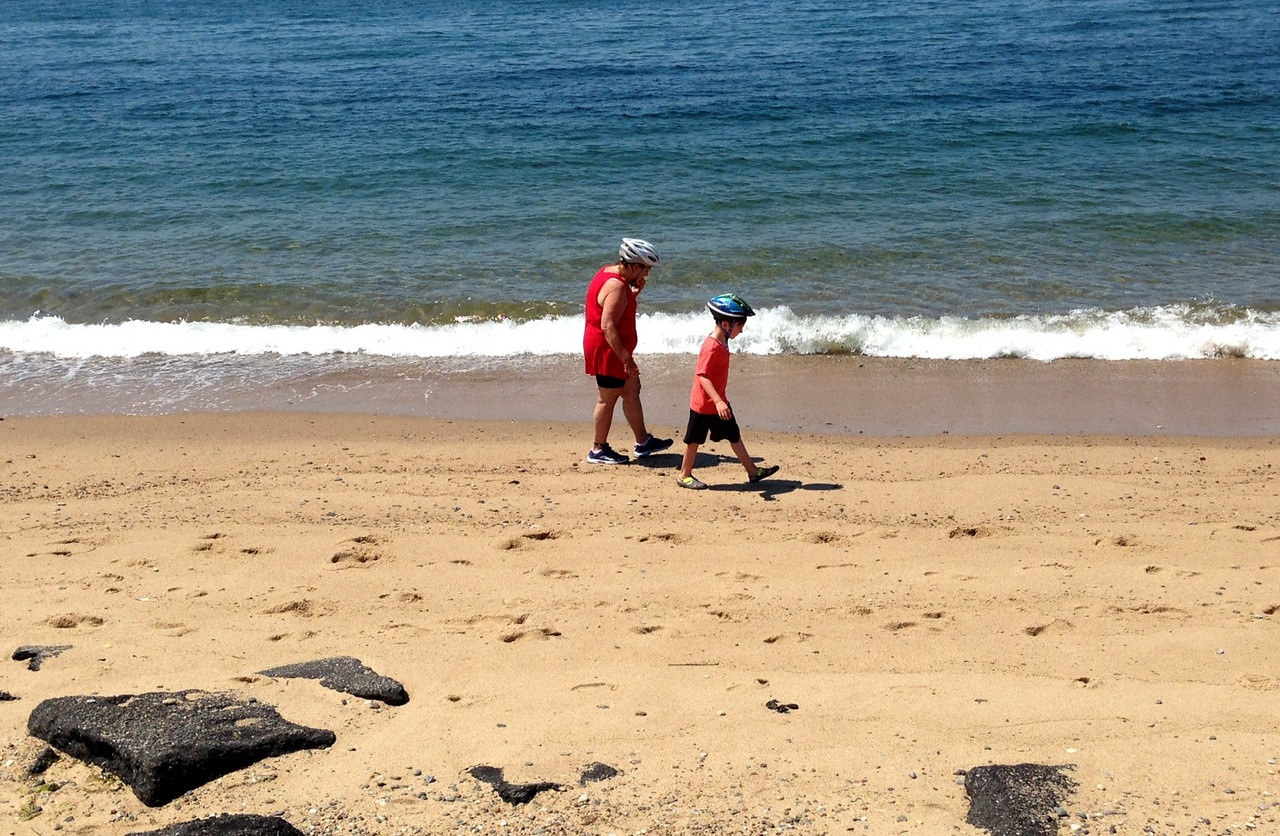 Beach Combers at Herring Cove
