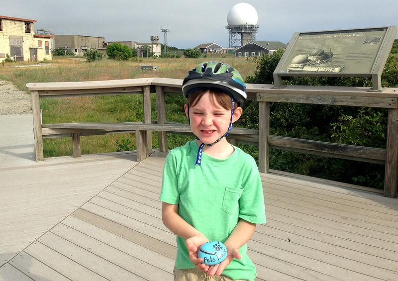Eamon at Highland AF Base