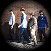 JIM VAIKNORAS/Staff photo Asperbers Are Us,Noah Britton,  Michael Imgeni Jack Hanke, and, Ethan Finlan.