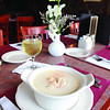 Village has award winning chowder and steamers, the flavor of which, the owner, Kevin Ricci, says is light and simple.Photo by Mike Dean