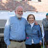 Richard and Anne Rosenfeld at their Rocky Neck home.Photo by Gail McCarthy