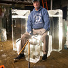 Gloucester: Cape Pond Ice owner Scott Menhard took the reins of the company when he purchased it with his father 26 years ago. Roger Darrigrand Cape Ann Magazine