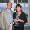 Eileen and Joseph Mueller at a Rockport Music event. Photo by Gail McCarthy