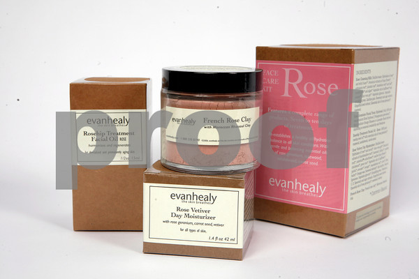 Looking for a healthy alternative for your face? Enjoy these Evan Healty plant based products. Rose Kit, $25.95. French Rose Clay, $19.95. Rose Vetiver Moisturizer, $35.95. Rosehip Treatment Facial Oil, $22.50. Available at GreenLife, 196 Main St., Gloucester. 978-2831255.
