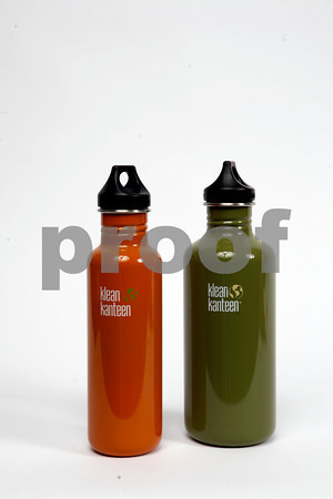 Want to keep your water crystal clean? Try these water bottles from Kleen Kanteen. Green, $27.95. Orange, $19.99. Available at GreenLife, 196 Main St., Gloucester. 978-283-1255.