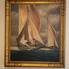Max Kuehne (1880-1968)<br /> J-Boats oat Sandy Bay<br /> Undated<br /> Oil on canvas<br /> Collection of Capt Robert M.C. Smith<br /> Currently on exhibit at the Cape Ann Museum through October 16, 2010