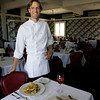 Chef Brian Girard at the Emerson Inn in Rockport. Photo by Kate Glass