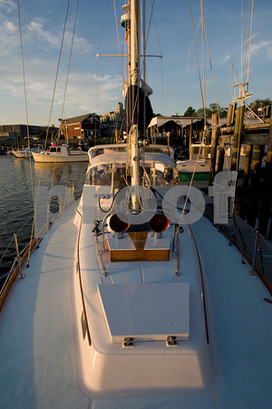 The Windfall docked in East Gloucester.