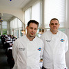 Chef Brian Strangman and his sous chef Jim Marshall at Bistro 127. Photo by Kate Glass