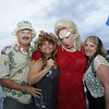 "Everett Harlow, Lisa VanSand, Phil Storey and Stacy Randell attend the ""Dudes and Divas"" themed Beaux Arts Costume Ball at The Studio on Rocky Neck The evening included, food, a silent auction and dancing to raise money for the Rocky Neck Art Colony. Photo by Mary Muckenhoupt"