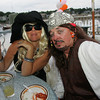 """Segrid Olsen and Curtis Sanders attend the """"Dudes and Divas"""" themed Beaux Arts Costume Ball at The Studio on Rocky Neck The evening included, food, a silent auction and dancing to raise money for the Rocky Neck Art Colony. Photo by Mary Muckenhoupt"""