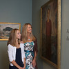 Marleigh Callahan, 13, and her mother Alison Callahan of Rockport look at the exhibit Ars Longa, Vita Brevis: Rockport Artists in the 1930s, which is at the Cape Ann Museum through October 16, 2010