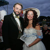 """Will Perkins and Brenda Hoag attend the """"Dudes and Divas"""" themed Beaux Arts Costume Ball at The Studio on Rocky Neck The evening included, food, a silent auction and dancing to raise money for the Rocky Neck Art Colony. Photo by Mary Muckenhoupt"""
