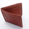 ALLEGRA BOVERMAN/Cape Ann Magazine Osgood Marley leather wallet <br /> in brandy. $37.  Bearskin Neck Leathers.