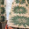 """ALLEGRA BOVERMAN/Cape Ann Magazine The fabric on these draperies in the bathroom of Annisquam resident Rose-Marie Glen are called """"Lily of the Valley"""" byFolly Cove designer  Louise Kenyon, who once lived in this house."""