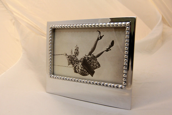 ALLEGRA BOVERMAN/Cape Ann Magazine This picture frame is by Mariposa and is for a 4x6 image. It is available at Harbor Loop Gift Shop at the Building Center in Gloucester. $44.