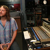 ALLEGRA BOVERMAN/Cape Ann Magazine Musician Tony Goddess of Bang a Gong Studios, in his studio in Gloucester.