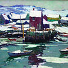 "Courtesy photo<br /> A work by Aldro T. Hibbard to be featured in the upcoming ""A. T. Hibbard, N.A.: American Master Exhibition"" to be hosted by Rockport Art Association in October. ""Motif No. 1 in Winter,"" 24 1/4 x 32 1/4. Oil on canvas. Collection of Dr. and Mrs. Joel E. Berenson."