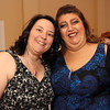 ALLEGRA BOVERMAN/Cape Ann Magazine. At the 40th Birthday Party for State Rep. Ann-Margaret Ferrante at Cruiseport on June 22. Ferrante, left, and Gloucester City Councilwoman Sefatia Romeo Theken.