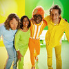 Photo courtesy of Tony Goddess. Papas Fritas is featured on Yo Gabba Gabba's season four taping in 2012. Tony Goddess is at far left.