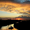 JIM VAIKNORAS/Cape Ann Magazine Sunset in Gloucester.