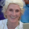 Gloucester: Ann McKay wears her hat at Pass the Hats' a gala celebration of Gloucester's Rocky Neck Cultural District on Friday, August 17, Desi Smith/Gloucester Daily Times. August 17,2012