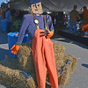 Rockport: This scarecrow, dressed like a lobsterman, on T-Wharf was one of many placed around town last year for HarvestFest. Locals will again dress and decorate scarecrows for the Scarecrow Strool. Festival goers can vote for their favorites.