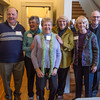 Desi Smith/Cape Ann<br /> Partiers, from lef, Dan Burke, Karyl Hayes, Mia Price, Gayle Macklem, Lorna Philley and Lee Benson.