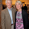 Rockport: Treasure of the RAA Ted Meeker and wife Dee at the Gala for Aldro Hibbard exhibit at Rockport Art Association. Desi Smith/Gloucester Daily Times. October4, 2012