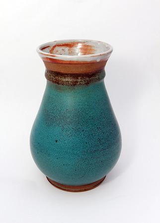 Ceramic vase, $150, by Kelly Hochsprung, of milk & honey, 1 Main St., Rockport, 978-546-6546 milkandhoneyrockport.blogspot.com Photo by Allegra Boverman.