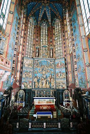 Courtesy photo. The altar of the Zeitstoss at  St. Mary's Basillica Church in Krakow, Poland.