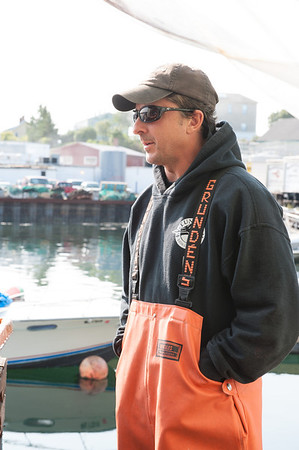 "Dave Carraro of the FV-Tuna.com is one the  captains featured on the National Geographic Channel's fishing reality show ""Wicked Tuna."" Photo by Desi Smith."