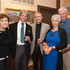 Rockport: Carole Beresson, T.M Nicholas, Chairman of the RAA, Joel Berenson, Judith and David Curtis at the Gala for Aldro Hibbard exhibit at Rockport Art Association. Desi Smith/Gloucester Daily Times. October4, 2012