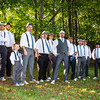 At the wedding of TJ Peckham and Kate Lynch. The men in suspenders. Photo courtesy of Alissa Curcuru.