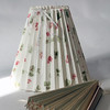 "Clever Covers. These pleated lampshade slipcovers are handmade by Ariana Barron of Rockport, and of La Provence, 4 Main Street, Rockport. They adjust to fit over an existing lampshade of any shape. Two sizes, 12 inches, $26, (left) and 9 inches, $22, (right, folded) with adjustable width.  Also available at  <a href=""http://www.shopclevercovers.comPhoto"">http://www.shopclevercovers.comPhoto</a> by Allegra Boverman."