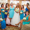 Bridesmaids with Kate Lynch on her wedding day. Photo courtesy of Alissa Curcuru.
