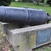 Desi Smith Photo<br /> This cannon was captured by the local militia as it fought off a British raiding party on Bearskin Neck in Sandy Bay (now Rockport) on Sept. 9, 1814. It can be seen on the lawn of the Congregational Church in Rockport, 12 School St, which was the meeting house at the time.
