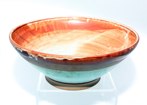 Ceramic bowl, $225, by Kelly Hochsprung, of milk & honey, 1 Main St., Rockport, 978-546-6546 milkandhoneyrockport.blogspot.com Photo by Allegra Boverman.