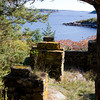 Great Misery Island.   Ruins of an early 20th century resort. Photo by Amy Sweeney.