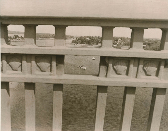 Gloucester Daily Times file photo<br /> When the A. Piatt Andrew Bridge was built over the Annisquam River in 1950, scallops shells decorated the railing.