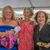"From left to right, Jayne Robbins, Beebe Nelson and Jennifer_Lee Levitz came to celebratie the centenary of the late Gloucester poet laureate Vincent Ferrini on which would have been his 100th Birthday, held Saturday evening June 22nd in an event dubbed a ""Poet's Cabaret."" held behind the Gloucester Maritime Museum on Harbor Loop.   Desi Smith Photo"