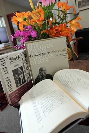 Allegra Boverman/Cape Ann Magazine. The works of Vincent Ferrini and Charles Olson have been translated into other languages.