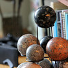 Barbara Erkkila's home is full of pieces of granite in all shapes, sizes and colors. Photo by Allegra Boverman.