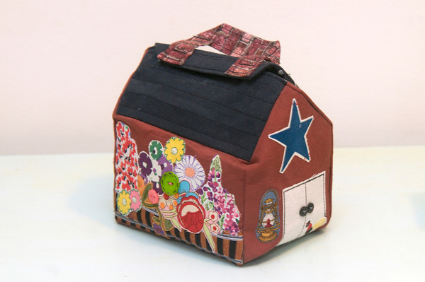 A soft child's playhouse, custom made, starting at $25<br /> Photo by Jim Vaiknoras.