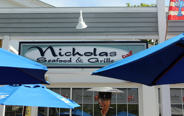 Nicholas Seafood & Grille, Manchester. Photo by Allegra Boverman.