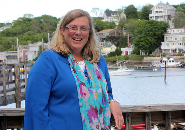 ALLEGRA BOVERMAN/Staff photo. Cape Ann Magazine. Gloucester: Gloucester Mayor Carolyn Kirk in Rocky Neck.